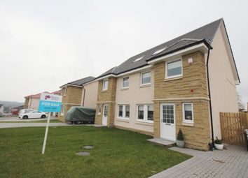 Thumbnail 4 bed semi-detached house for sale in Brodie Way, Plains, Airdrie