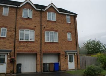 Thumbnail 4 bed town house to rent in Raleigh Close, Trent Vale, Stoke-On-Trent