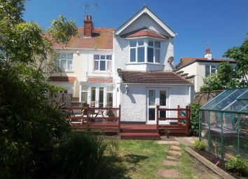 Thumbnail 5 bed semi-detached house for sale in Cliffe Avenue, Margate