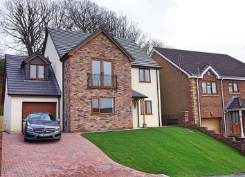 Thumbnail 5 bedroom detached house for sale in The Oaks, Cimla, Neath, West Glamorgan.