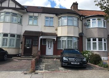 Thumbnail 3 bed terraced house to rent in Parkside Avenue, Romford