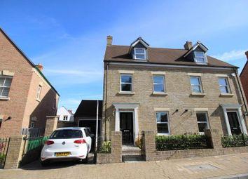 Thumbnail 4 bedroom semi-detached house for sale in Trecastle Road, East Wichel, Swindon