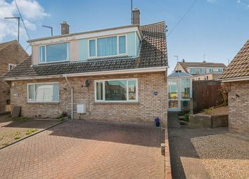 Thumbnail 3 bedroom semi-detached house for sale in St Peters Road, Oundle, Peterborough