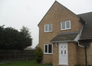 Thumbnail 2 bedroom property to rent in Stanch Hill Road, Sawtry, Peterborough