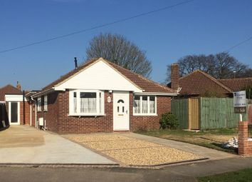 Thumbnail 4 bed detached bungalow for sale in Moody Road, Stubbington, Fareham