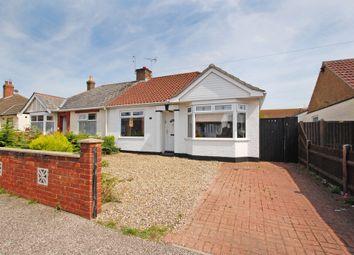 Thumbnail 2 bedroom semi-detached bungalow for sale in Kirkley Run, Lowestoft
