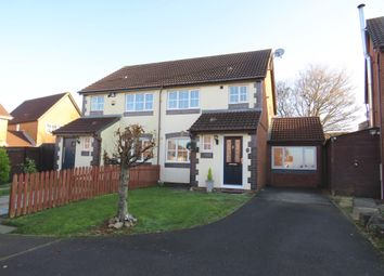 Thumbnail 4 bed semi-detached house for sale in Ael-Y-Coed, Barry