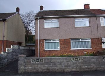 Thumbnail 3 bed semi-detached house for sale in 27 Heol Camlas, Cwmavon, Port Talbot.