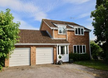 Thumbnail 4 bed detached house for sale in Meadow View, Glastonbury