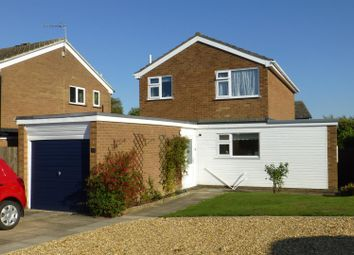 Thumbnail 3 bed detached house for sale in Welland Way, Oakham