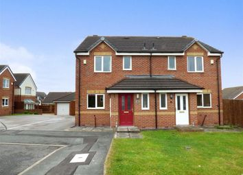 Thumbnail 3 bed semi-detached house for sale in Willard Close, Chesterton, Newcastle-Under-Lyme