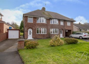 Thumbnail 3 bed semi-detached house for sale in Clifton Grove, Mansfield