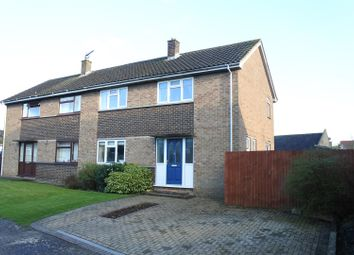 Thumbnail 3 bed semi-detached house for sale in Barleycroft Road, Corby Glen, Grantham