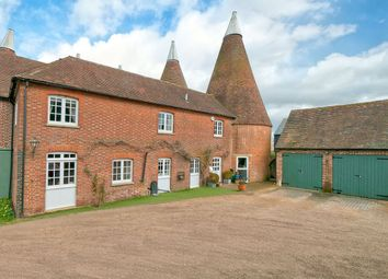 Thumbnail 4 bed barn conversion for sale in Broadwater Road, West Malling