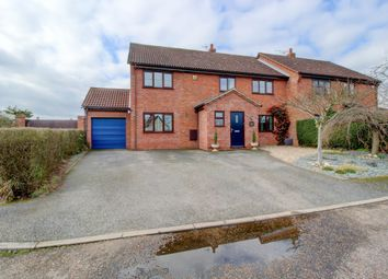 Thumbnail 5 bed semi-detached house for sale in Haughley New Street, Haughley, Stowmarket