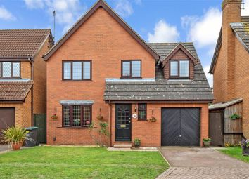 Thumbnail 4 bed detached house for sale in Macaulay Close, Poets Development, Larkfield, Kent
