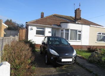 Thumbnail 2 bed semi-detached bungalow for sale in Connaught Avenue, Shoreham-By-Sea