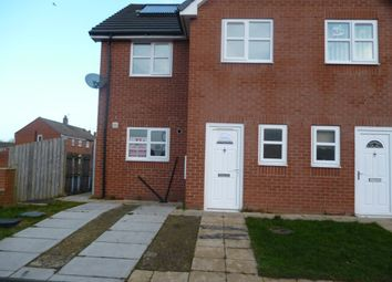 Thumbnail 3 bed semi-detached house to rent in Douthwaite Road, Bishop Auckland