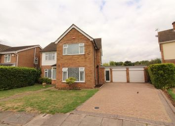Thumbnail 4 bedroom detached house for sale in Westcliffe Drive, Styvechale, Coventry