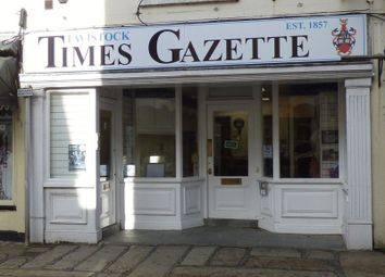 Thumbnail Commercial property for sale in Town Steps, West Street, Tavistock