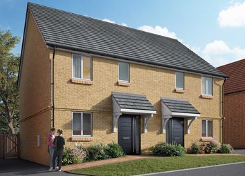 "Thumbnail 3 bed semi-detached house for sale in ""The Minster"" at Mill Road, Hailsham"