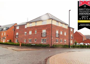 Thumbnail 2 bed flat for sale in Ridley Gardens, Shiremoor, Newcastle Upon Tyne