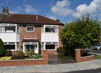Thumbnail 5 bed semi-detached house for sale in Haileybury Road, Woolton, Liverpool