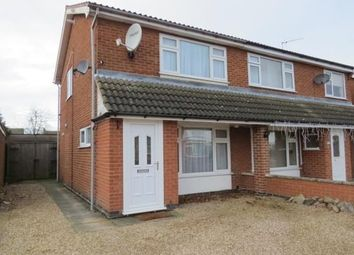 Thumbnail 2 bedroom semi-detached house to rent in The Meadows, East Goscote, Leicester