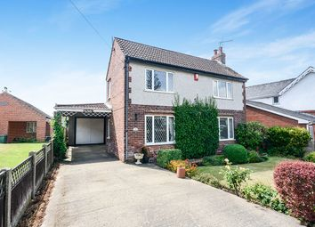 Thumbnail 3 bed detached house for sale in The Hill, Glapwell, Chesterfield