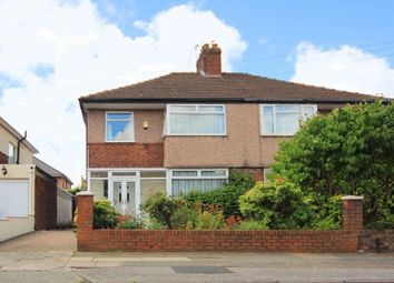 Thumbnail 3 bed semi-detached house for sale in Mackets Lane, Hunts Cross, Liverpool