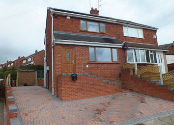 Thumbnail 2 bed semi-detached house for sale in Crediton Avenue, Bradeley, Stoke-On-Trent