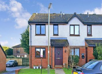 Thumbnail 2 bed end terrace house for sale in Holmbury Drive, North Holmwood, Dorking, Surrey