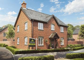 Thumbnail 4 bed detached house for sale in Plot 98, The Birch, Barley Fields, Uttoxeter