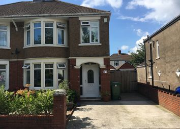 Thumbnail 3 bedroom semi-detached house for sale in St. Angela Road, Heath, Cardiff