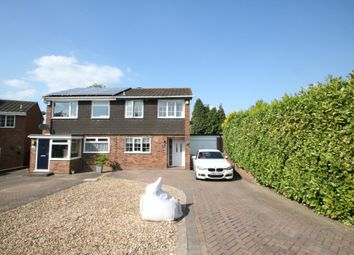 Thumbnail 3 bed semi-detached house for sale in Greenlee, Wilnecote, Tamworth