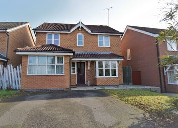 Thumbnail 4 bed detached house for sale in Mallow Close, Hamilton, Leicester