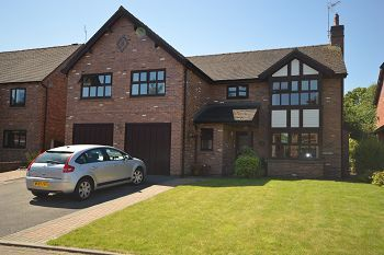 Thumbnail 5 bedroom detached house for sale in Chartwell Park, Sandbach, Cheshire