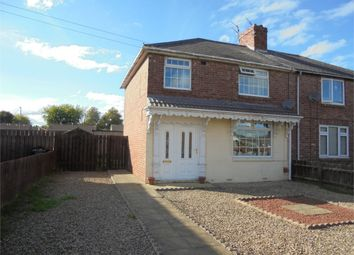 Thumbnail 3 bed semi-detached house for sale in North End Gardens, Bishop Auckland, Durham