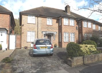 Thumbnail 4 bed semi-detached house to rent in Mowbray Road, Edgware