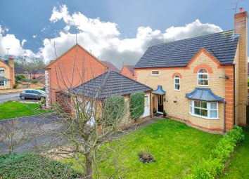Thumbnail 4 bed detached house for sale in Berwick Way, Kettering