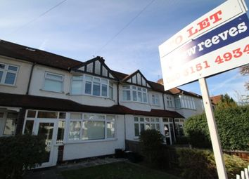 Thumbnail 3 bed terraced house to rent in Queen Anne Avenue, Bromley