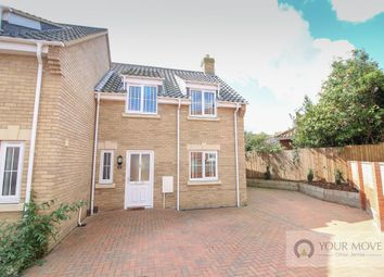 Thumbnail 2 bed semi-detached house for sale in Saxon Close Rollesby Road, Martham, Great Yarmouth
