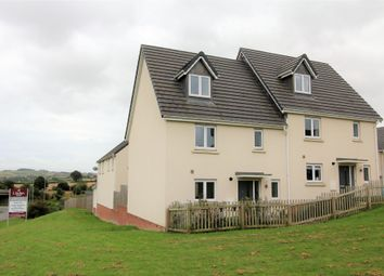 Thumbnail 4 bedroom semi-detached house for sale in Chariot Drive, Kingsteignton, Newton Abbot