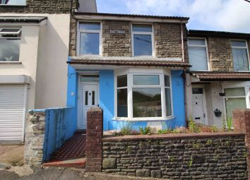 Thumbnail 4 bed terraced house for sale in Fron Terrace, Pontypridd