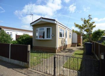 Thumbnail 2 bed mobile/park home for sale in Enfield Court, Eye, Peterborough, Cambridgeshire