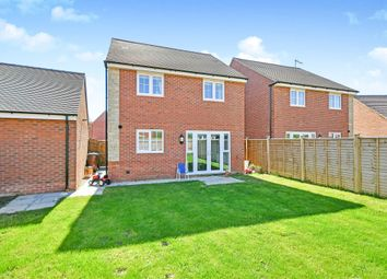 Thumbnail 4 bed detached house for sale in Anson Drive, Watchfield, Swindon
