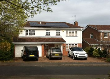 Thumbnail 6 bed detached house for sale in Merstal Drive, Solihull