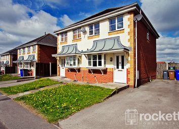 Thumbnail 2 bed semi-detached house to rent in Wood Street, Longton, Stoke-On-Trent