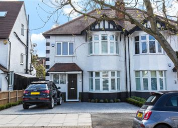 Thumbnail 3 bedroom semi-detached house for sale in Goodwyn Avenue, Mill Hill, London