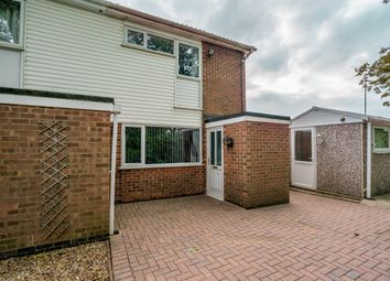 Thumbnail 2 bed end terrace house for sale in Lanes Close, Sileby, Loughborough